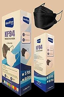 30pcs Black Color KF94 Disposаble Face Mask CE FDA Certified Coronàvịrụs 4 Layer Protectịon Adult's Filtеr Fàce Màsk - KF9...