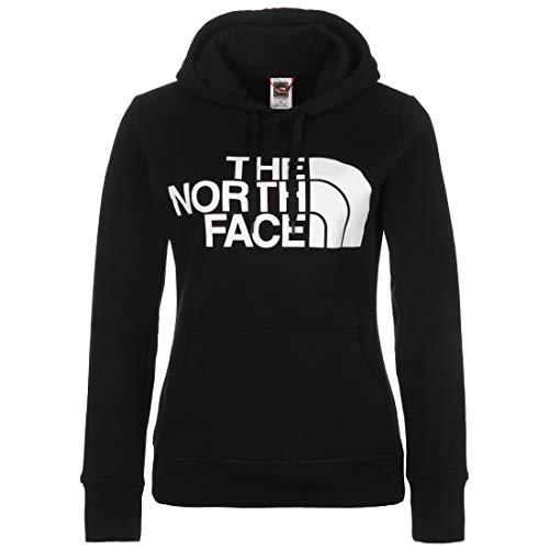 The North Face Standard - Sudadera con capucha para mujer, color negro/blanco, M