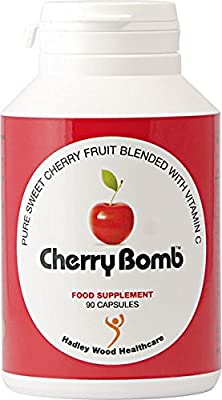 CherryBomb 90 vegetarian capsules from Hadley Wood Healthcare