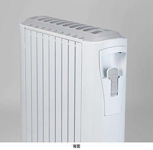 デロンギ(DeLonghi)ベルカルドオイルヒーターピュアホワイト+シルクグレー10~13畳用RHJ75V0915-GY