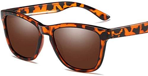 ZHANG Gafas De Sol para Mujer Gafas De Sol Polarizadas Gafas De Sol para Conducir para Hombre,D