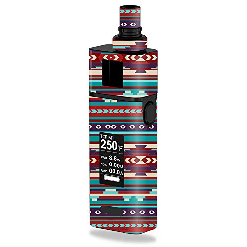 MightySkins Skin Compatible with JoyeTech Cuboid Mini 80W – Southwest Stripes | Protective, Durable, and Unique Vinyl Decal wrap Cover | Easy to Apply, Remove, and Change Styles | Made in The USA