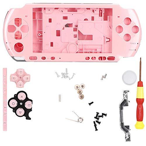 Garsent Kleurrijke compacte beschermhoes voor PSP3000 game controller uitgerust met schroevendraaier, roze