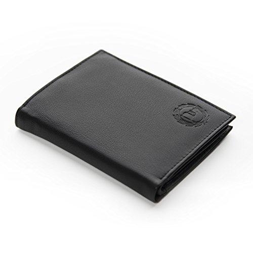 DSC ARMINIA BIELEFELD Geldbörse Leder schwarz groß