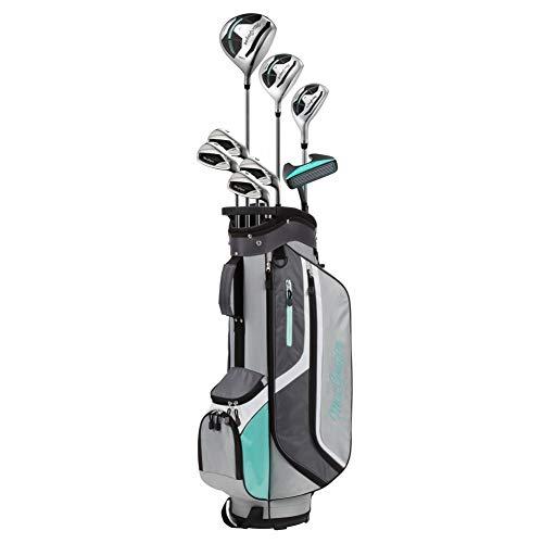 MACGREGOR Damen Womens Package Set & Golf Club Bag Golf CG3000 Golfschläger-Set und Golftasche, schwarz/rot
