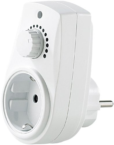 revolt Dimbaar stopcontact: dimmer stopcontact voor tafel- en staande lampen met 230 V (tussenstekker met dimmer)