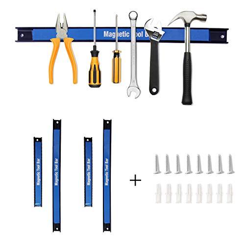 CCLIFE 4pcs tiras magnéticas para herramientas