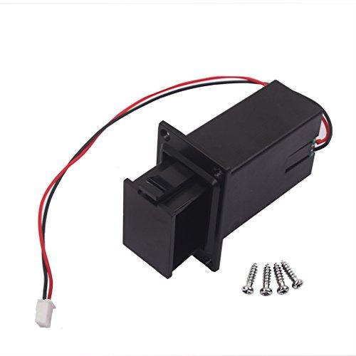 Caja de Batería de 9V para Bajo de Guitarra Eléctrica de Ukulele...