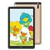 tablet para niños de 10 Pulgadas, computadora portátil con Pantalla táctil de Alta definición, procesador Octa-Core, versión de Android, cámara Dual