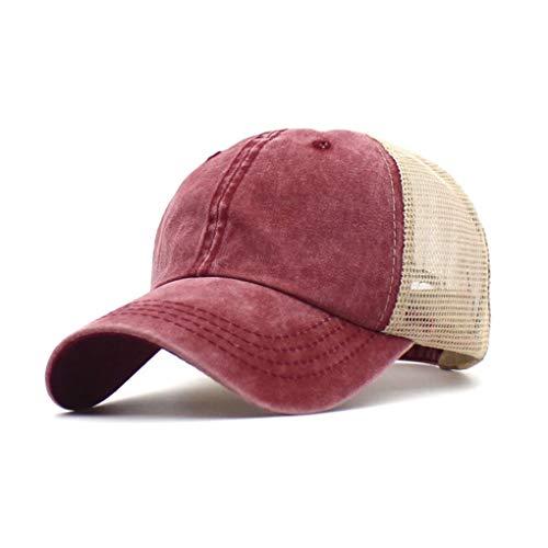 Yutdeng Gorra De Béisbol Gorras de Hombre Sombrero de Baseball Cap Unisex...