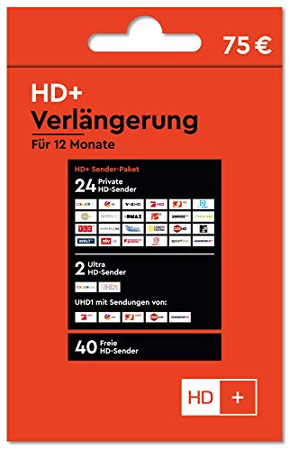 HD+ Verlängerung für 12 Monate, rot