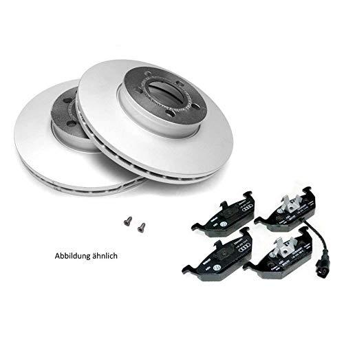 VW Original ECONOMY Bremsenkomplettsatz T5 T6 hinten ECO Bremsbeläge Bremsscheiben JZW698601AK JZW698601AL