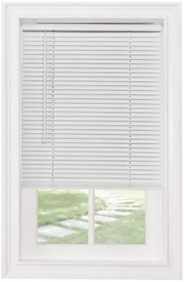 Achim Home Furnishings Cordless GII Morningstar 1 Light Filtering Mini Blind Width 22inch Pearl product image