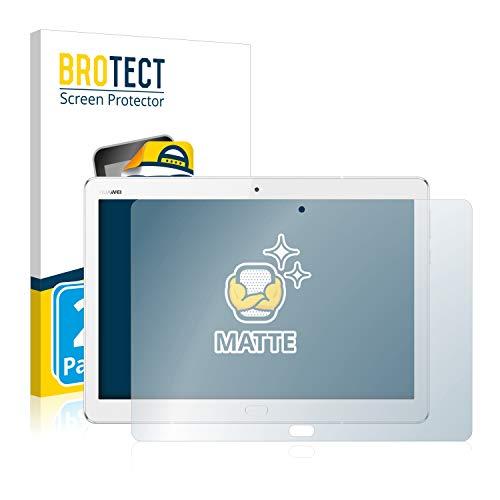 BROTECT 2X Entspiegelungs-Schutzfolie kompatibel mit Huawei MediaPad M3 Lite 10.1 Displayschutz-Folie Matt, Anti-Reflex, Anti-Fingerprint