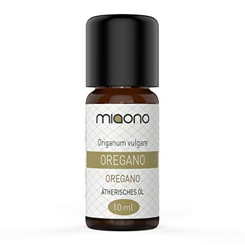 Oregano Öl - 100% naturreines, ätherisches Öl (10ml) von miaono (Glasflasche)