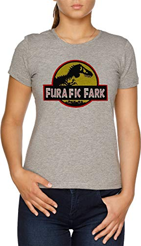 Vendax Furafic Fark Camiseta Mujer Gris