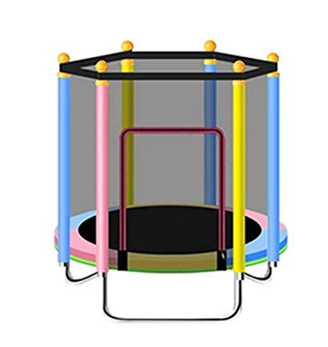 Mini Trampoline Kinderen Volwassen Ronde Trampoline Complete Set Inclusief Springplaat Veiligheid Netto Gecapitonneerde Netposten en Rand Cove