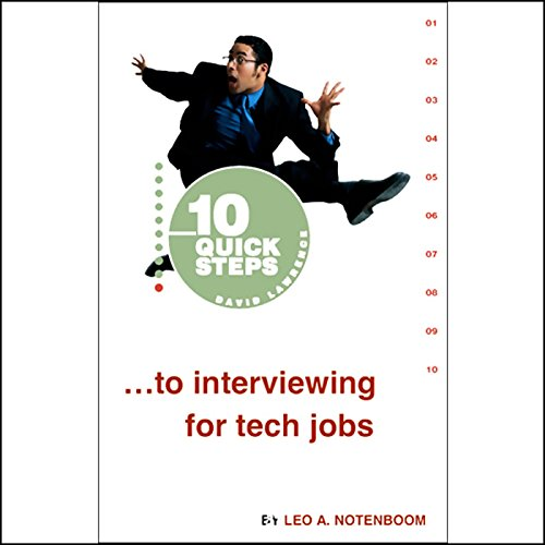 10 Quick Steps to Interviewing for Tech Jobs cover art