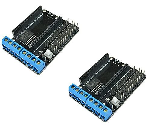 2x L293D Wifi Motor Drive Shield Module For Arduino NodeMcu Lua ESP-12E ESP8266