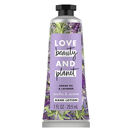 Love Beauty And Planet Argan Oil & Lavender Hand Lotion Soothe & Serene 1 oz, 24 Pieces