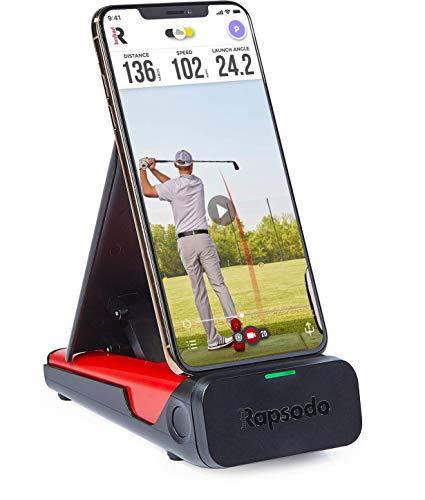 Rapsodo ゴルフ弾道測定器 モバイルトレーサーMLM [日本国内正規品] iPhone/iPadのみ対応 赤と黒