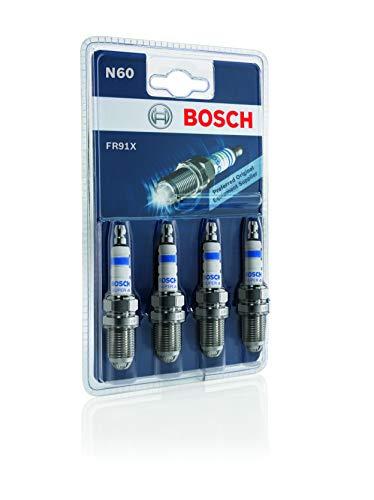Bosch 0242222804 Zündkerze Super 4 FR91X KSN 520/N60, 4er Set
