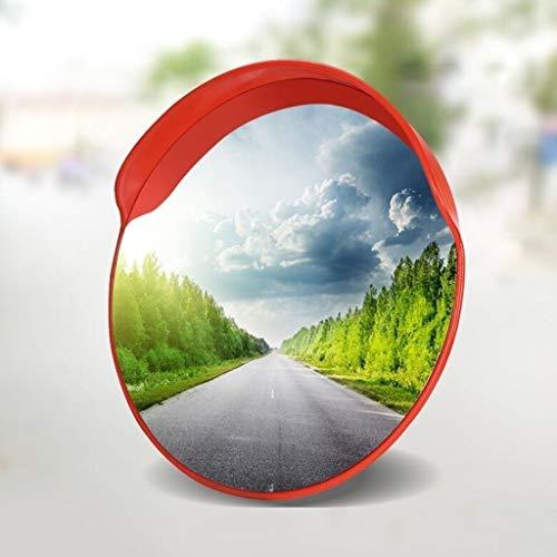 Straatrand multifunctionele onbreekbare verkeersspiegel, rond convex reflector binnen Easy to veiligheid installeren spiegel diameter: 45 cm - 120 cm voorkomt ongevallen in het verkeer.