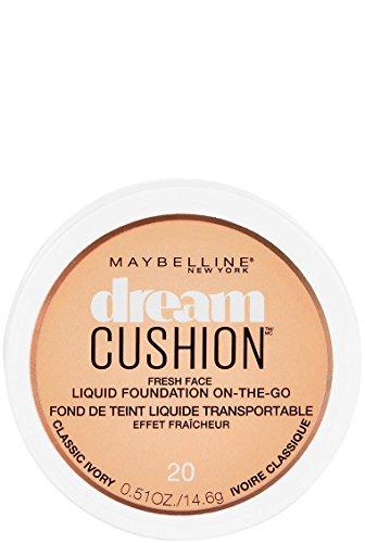 Maybelline Dream Cushion Foundation 20 Classic Ivory 0.510 oz