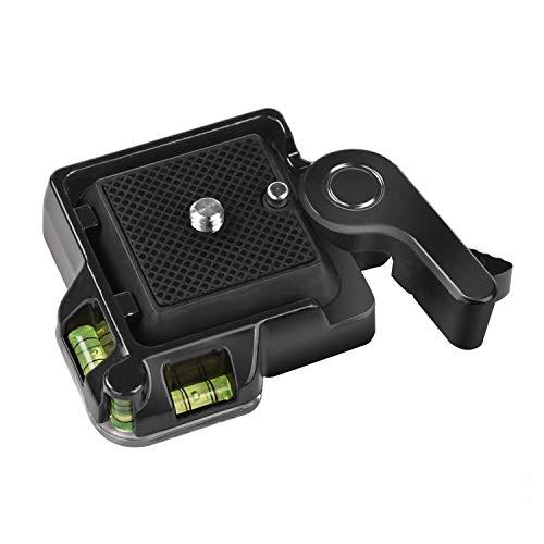 Schnellwechselplatte, BDDFOTO Schnellwechselplatte Schnellspanner Montageplattform Klemm für Giottos MH630 Kameramontage MH7002-630 MH5011 (01)