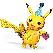 Mega Construx Pokémon Pikachu Celebración Figura de 280 bloques de construcción de juguete para niños Mattel GWY76