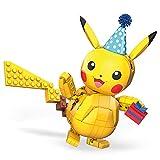 Mega Construx GWY76 - Pokémon 25. Jubiläum 10cm Pikachu Bauset mit 280 Bausteinen, ab 6 Jahren [Exklusiv bei Amazon]