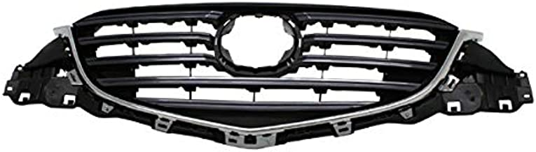 Koolzap For 15-16 CX-5 CX5 Front Face Bar Grill Grille Assembly Chrome Shell/Grey Insert