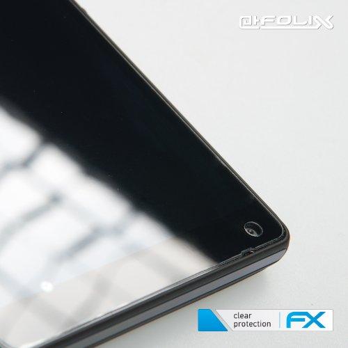 atFoliX Huawei Ascend W1 Displayschutzfolie (3 Stück) - FX-Clear, kristallklare Premium Schutzfolie - 4