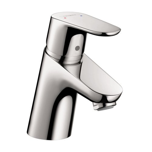 hansgrohe Focus Modern Upgrade Easy Clean 1-Handle 1 5-inch Tall Bathroom Sink Faucet in Chrome, 04510000