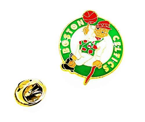 Gemelolandia | Pin de solapa NBA Boston Celtics 25mm | Pines Originales y Baratos Para Regalar | Para las Camisas, la Ropa o para tu Mochila | Detalles Divertidos