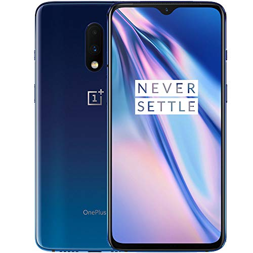 OnePlus 7 (Mirror Blue, 6GB RAM, Super AMOLED Display, 128GB Storage, 3700mAH Battery)