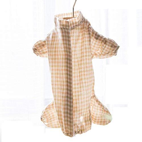 QHYY Kleidung Hund Vierbeinige Hundekleidung Haustier-Kleidung Hund Base Shirt Hunde-Bekleidung Herbst und Winter Cat Kleidung,D,M