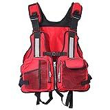 Leikance Chaleco salvavidas para adultos, ajustable, canoa, kayak, bote,...