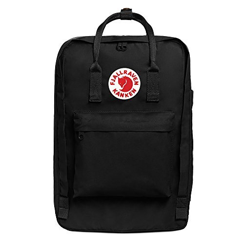FJÄLLRÄVEN Unisex's Kånken Laptop Backpack, Black, 31 x 19 x 43 cm/17 Litre