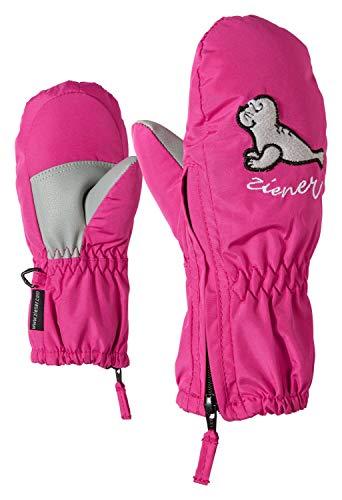 Ziener Baby LE ZOO MINIS glove Ski-handschuhe / Wintersport |warm, atmungsaktiv, rosa (pop pink), 116