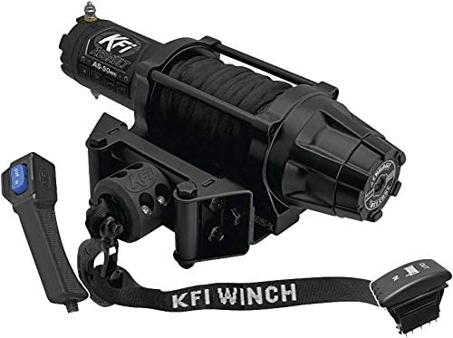 New Brand new KFI Assault Wide Series 5000 Rope Winch M Synthetic lbs. Max 77% OFF