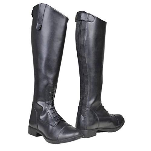 Hkm–Botas de equitación, año, Mujer, Color Negro - Negro, tamaño 39 EU