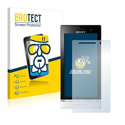 brotect Pellicola Protettiva Vetro Compatibile con Sony Xperia U ST25i Schermo Protezione, Estrema Durezza 9H, Anti-Impronte, AirGlass