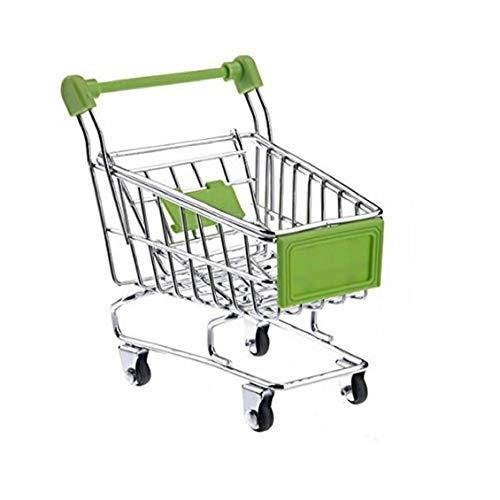 Herramientas De Juguete Muebles De La Casa Creativo del Almacenaje Mini Carro De Compras De La Máquina De Muñecas Accesorio para Niños