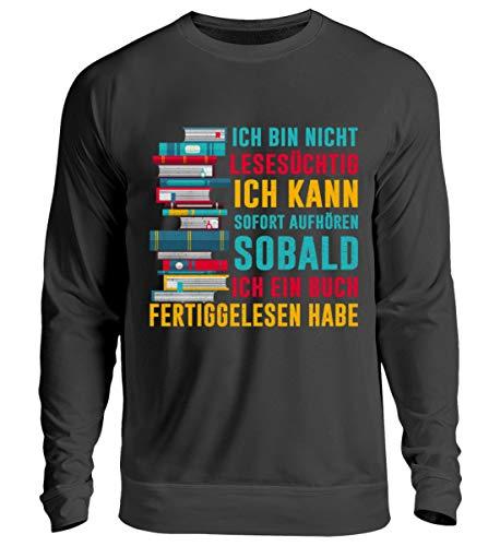 Chorchester voor boekenfans, die goed leesbaar zijn, uniseks pullover