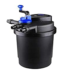 in budget affordable SUN CPF-2500 Grech Teich Bio Suppression Filter, UVC, up to 1600 gallons, 13W
