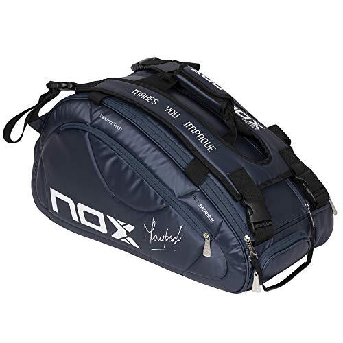 NOX Pro Series Paletero, Deportes de Raqueta, Azul Marino,