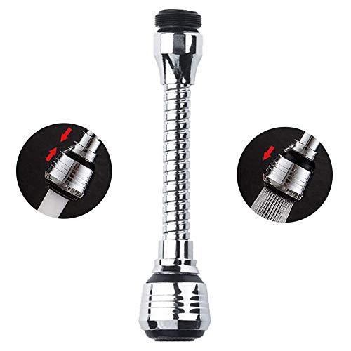 Dispositivo de extensión de la cabeza del rociador del grifo universal ducha de la cocina dispositivo largo que ahorra agua grifo de la boquilla de espuma