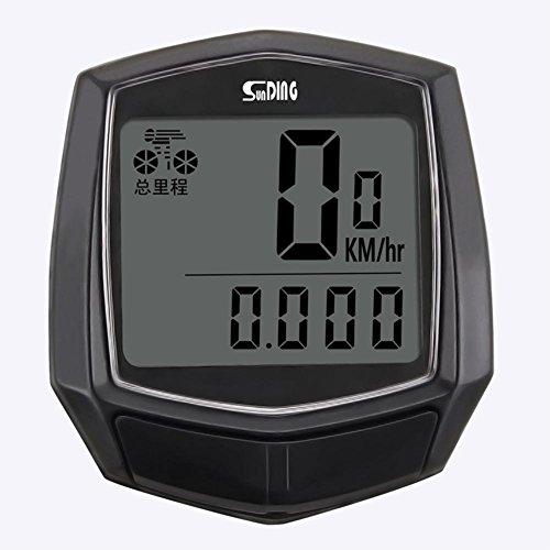 Cronómetro Para Bicicleta De Montaña, Marca De Velocidad De Pulso De Bicicleta,...