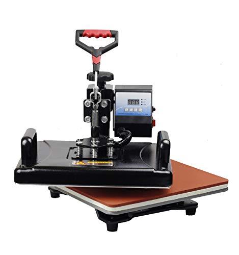 15 en 1 Máquina de Prensa de Calor/Máquina de sublimación Impresora de Prensa de Calor para Camisetas Placas/Cap/Taza/Teléfono Cubiertas/Pluma/Fútbol, etc.